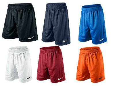 New Nike Park Knit Shorts Without Brief Boys Football Training Gym School