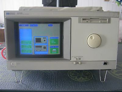 HP / Agilent 16500B Logic Analysis System with three 16555A Cards, all tested.