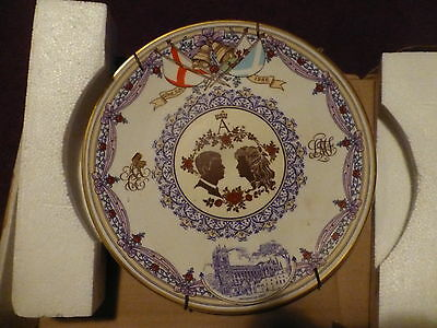 Collectable Caverswall Prince Andrew And Sarah Ferguson (Fergie) Wedding Plate