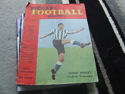 Charles Buchan`s Football Monthly October 1952 No 14