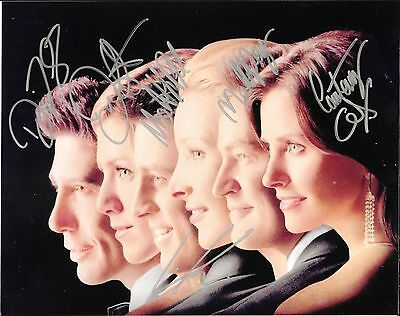 FRIENDS CAST TV SHOW REPRINT RP Autographed Signed PHOTO 8x11 Jennifer Aniston