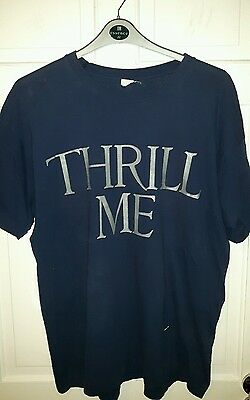 SIMPLY RED ♡ Thrill Me Tour T-Shirt ~ Blue, Size XL ~ USED but VGC ♡♡♡