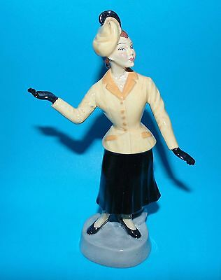 Bairstow Manor collectables figurine 'fashions of the forties 1947' 1st  L/E