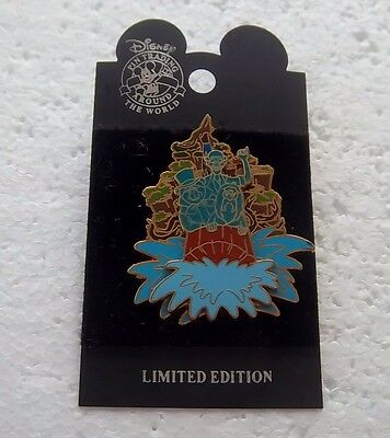 *~*disney Dlr Splash Mountain Oogie Boogie's Ghost Walk Pin Event Le Pin*~*