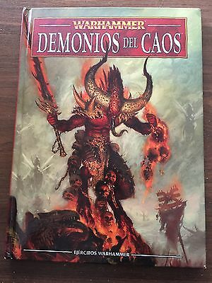 GAMES WORKSHOP Warhammer FANTASY DEMONIOS DEL CAOS Codex