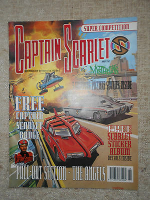 Captain Scarlet & The Mysterons Comic 3 (Includes the free gift!) NM!