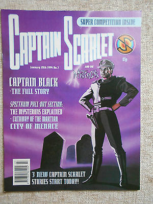Captain Scarlet & The Mysterons Comic 7: Near Mint