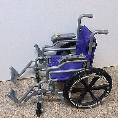 "Doll Wheelchair Toys R US Doll Accessories 18"" Size Wheelchair Purple Toys R Us"