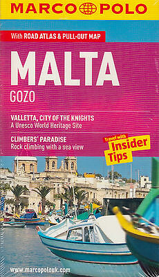 Malta & Gozo Marco Polo Guide BRAND NEW BOOK by Marco Polo (Paperback, 2012)