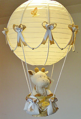 ALFIE in a Hot Air Balloon Lamp-light Shade for Baby Nursery