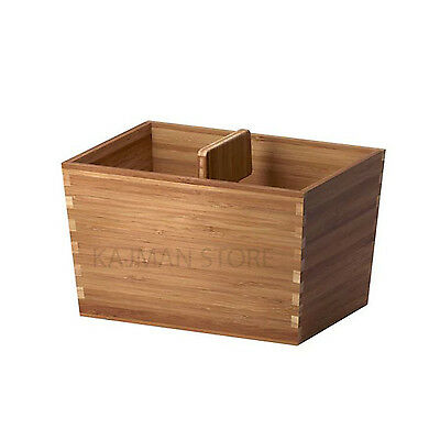 Box with handle VARIERA Bamboo 24x17 cm