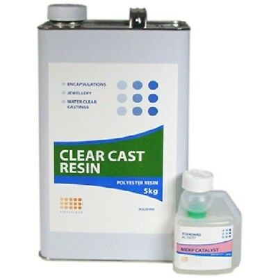 5kg Pack of Water Clear Casting Resin