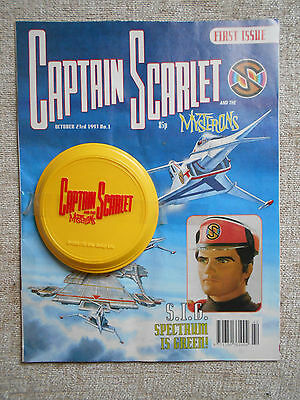 Captain Scarlet & The Mysterons 1 (includes the free gift): Near Mint