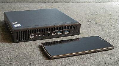 HP EliteDesk 800 G2 Mini - Core i5-6500T - 2.5GHz - 8Go RAM DDR4 - 500 Go SSHD