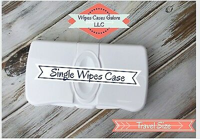 SALE Travel Size Baby Wipes Case