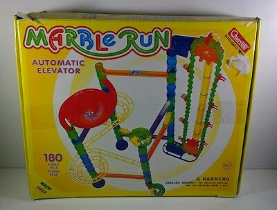 Quercetti Marble Run Automatic Elevator 180 Pieces Set (6576)