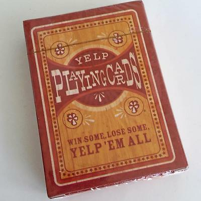 Yelp! Playing Cards - Yelp Promotional Factory-Sealed