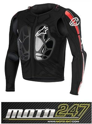 New Alpinestars Bionic Pro Jacket Body Chest Armour Protection Motocross Mx