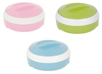 Plastic Stainless Steel Insulated Casserole Food Warmer Hot Pot Serving Dish