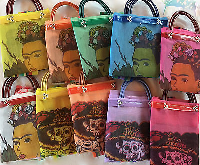 Mexican Mesh Market Bag Large Tote Mercado Eco Purse Reusable