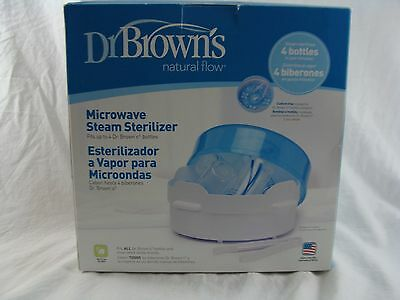 Bottle Sterilizer Dr Brown's Natural Flow Microwave Steam