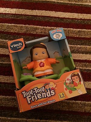 VTECH BABY TOOT TOOT FRIENDS DAWN WITH HER WAGON - Brand New - Mint Condition