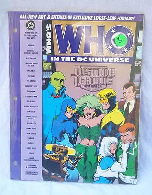 Vintage Who's Who In The DC Universe Handbook February 1991