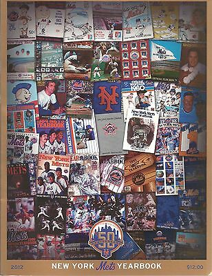 2012 New York Mets Baseball Yearbook - 50th Anniversary Edition