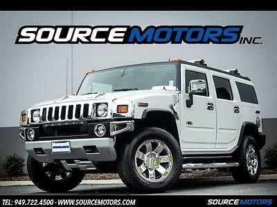 "2008 Hummer H2 Base Sport Utility 4-Door 2008 Hummer H2 Luxury 20"" Chrome Wheels, Leather, Sunroof, 3rd Row 4x4"