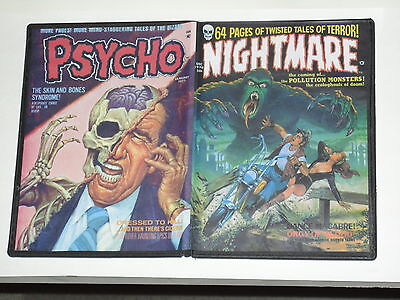 SKYWALD 1970s Horror Magazine Comics on DVD  Nightmare  Psycho  Scream complete