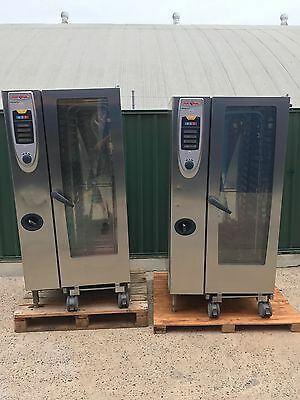 2 X Rational 20 Tray Combi Oven SCC 201 Self Cooking