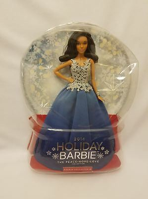 2016 HOLIDAY BARBIE African American Peace Hope Love Collection