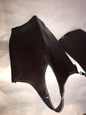 Ariat Brown Chaps Size EX Small
