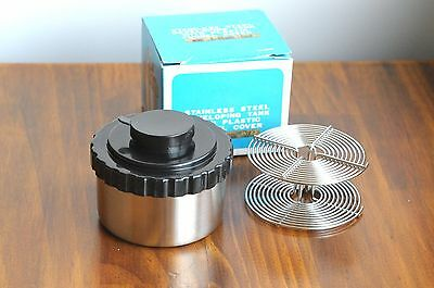 STAINLESS Steel Developing Tank    w/ Reel for 35mm 135 film    - Boxed
