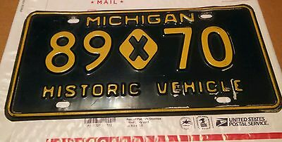 MICHIGAN Historic Vehicle License Plate 89x70