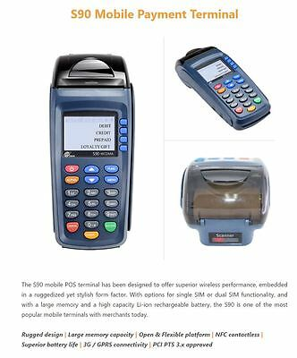 Wireless Debit Credit Card Machine Mobile Terminal $795
