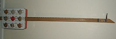 Cbg, Tea Total 1 String Lowbow Guitar Diddly-Bow Slide, 96