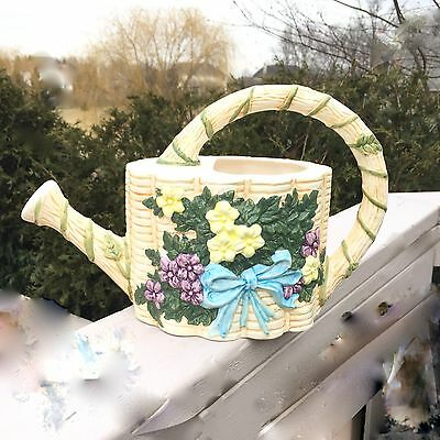 Watering Can Ceramic Hand Crafted