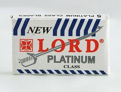 100 LORD Super Stainless Single Edge Razor Blades. FREE SHIPPING in CANADA