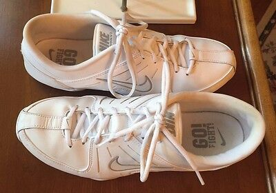 Nike Air Mix Down 2 White Leather Cheer Womens Dance Athletic Shoes~Size 11