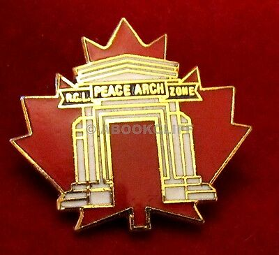RCL PEACE ARCH ZONE B.C. PEACE ARCH Royal Canadian Legion Pin