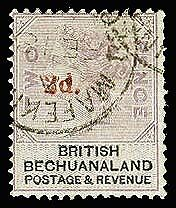 BECHUANALAND 25a  Used (ID # 3040)
