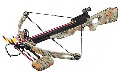 Four Point Crossbow Package New 248FPS Autumn Camo Stock MK-250A1AC New