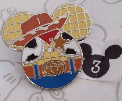 Sheriff Woody Mickey Mouse Icon Mystery Pouch Toy Story Disney Pin Buy 2 Save $