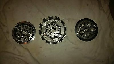 02-09 Yamaha WR250F YZ250F Clutch Basket Pressure Plate and Hub
