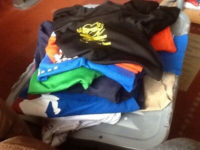 Job Lot Of 10 Marathon Triathlon Duathlon Running Commerative Shirts