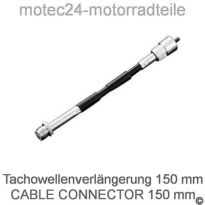 TACHOWELLE VERLÄNGERUNG 150 mm  … Speedometer Tachometer cable connector