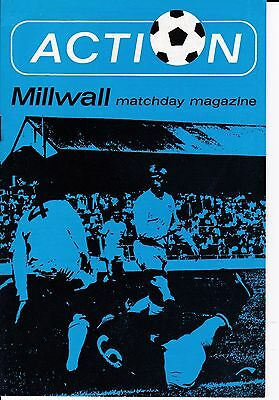 Millwall v Nottingham Forest FA Cup 3rd Round 1971/72
