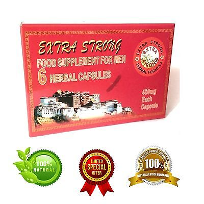 ORIGINAL EXTRA STRONG Male Herbal Tonic 450mg Pills in Retail Box
