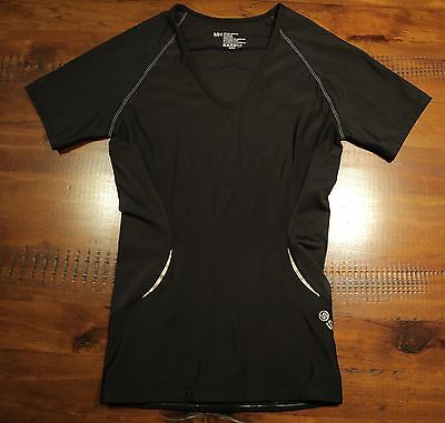 SKINS A400 Short Sleeve Top WOMENS SIZE MH Compression Wear Gym